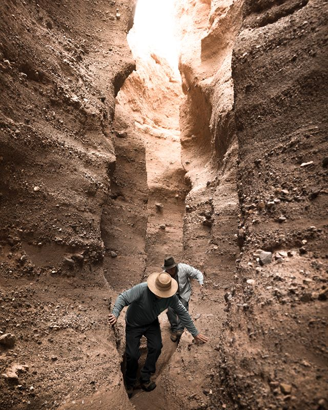 Did you know there are slot canyons outside of Las Cruces in the Robledo Mountains? #NewMexicoTRUE   Photo: @t.a.barnett   NewMexico.org
