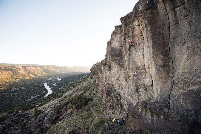 You should see the view from up there. #NewMexicoTRUE   Photo: @zachdoleac   NewMexico.org