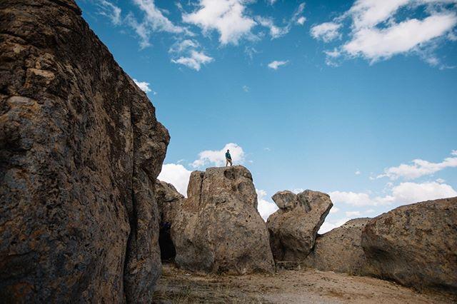 Plenty of boulders to climb at City of Rocks. #NewMexicoTRUE   Photo: @talwegcreative   NewMexico.org