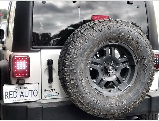 2014 Jeep Wrangler with new @anzousa Tail Lights!  __________________________________ 📧:contact@redautomotive.ca 📞:519.781.1711 🌎:www.redautomotive.ca 📍:25 Weber St. North. Waterloo, Ont. Canada ___________________________________ #anzolights #anzolighting #jeep  #kw #kwawesome #trucksofcanada #wrawesome #jeepwrangler #kitchener #performance #wranglerunlimited #chrysler #taillights