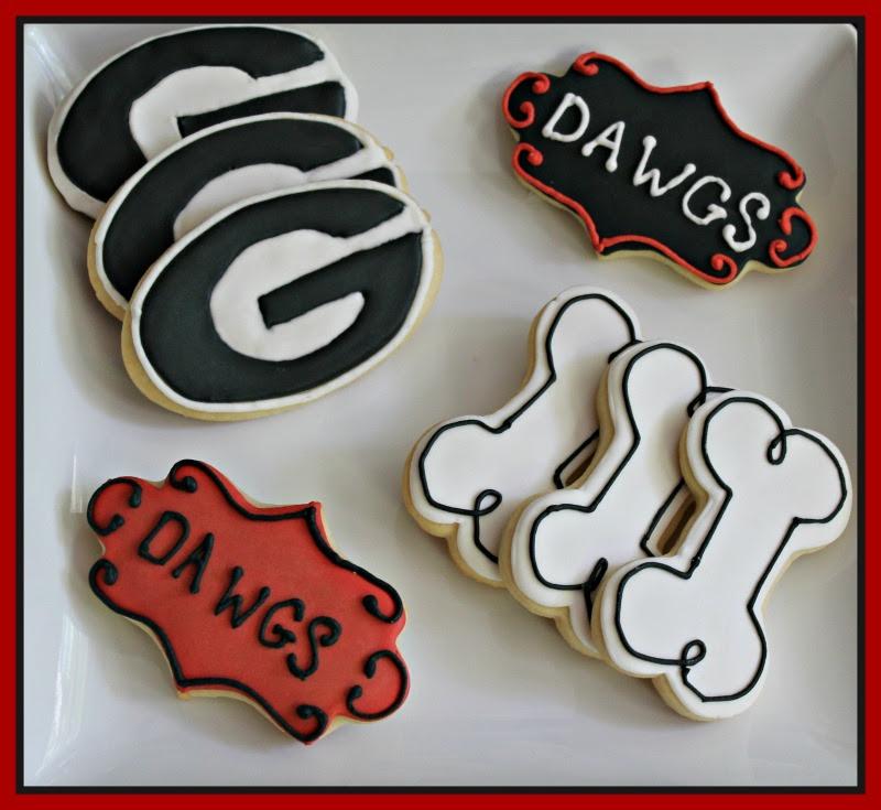 New! University of Georgia cookies $20/dozen
