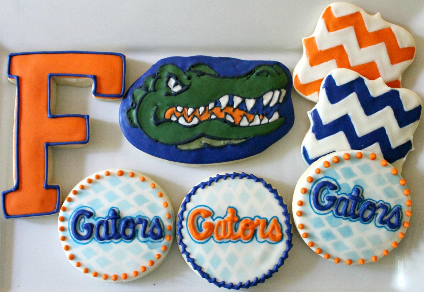 University of Florida Gators ($24/dozen;$64/box of 36)
