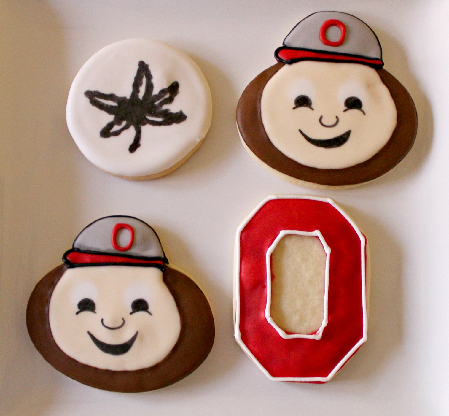 Ohio State cookies