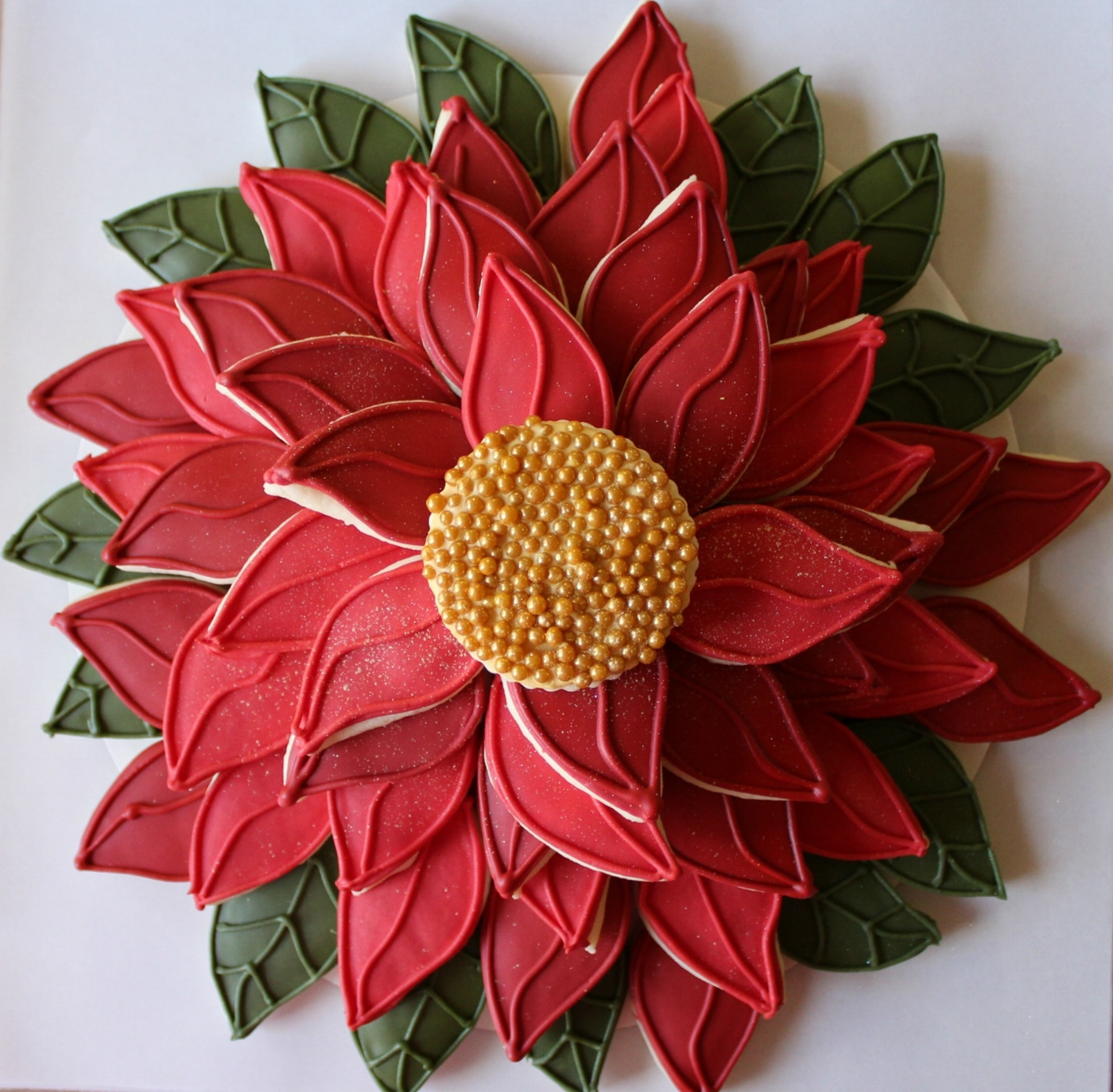 Red Poinsettia $60
