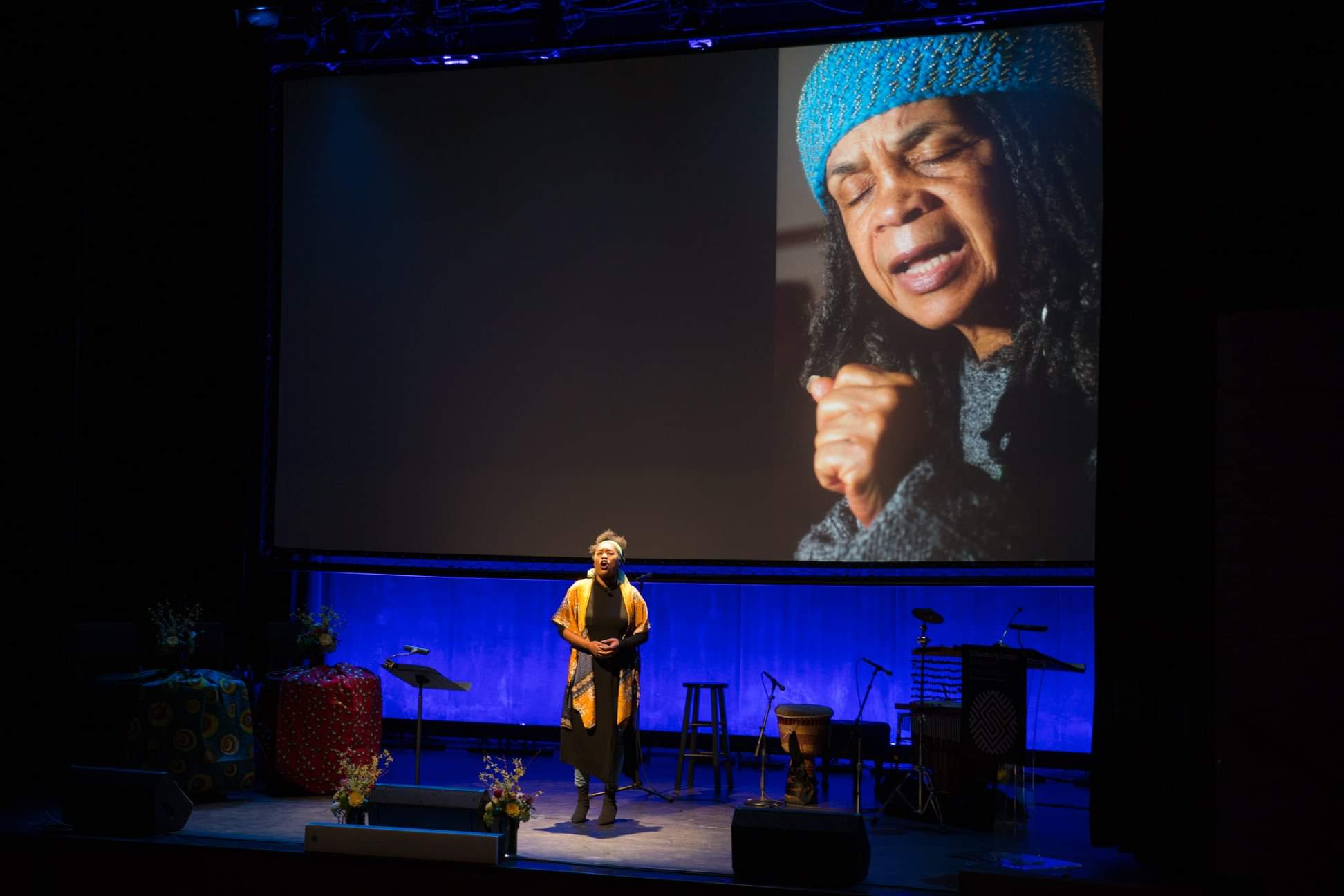 Opening Shake Loose: A Celebration of Sonia Sanchez 2019 photo: Chester Higgins