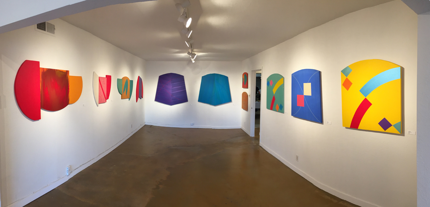 Partial view of seven-year survey show, 2015