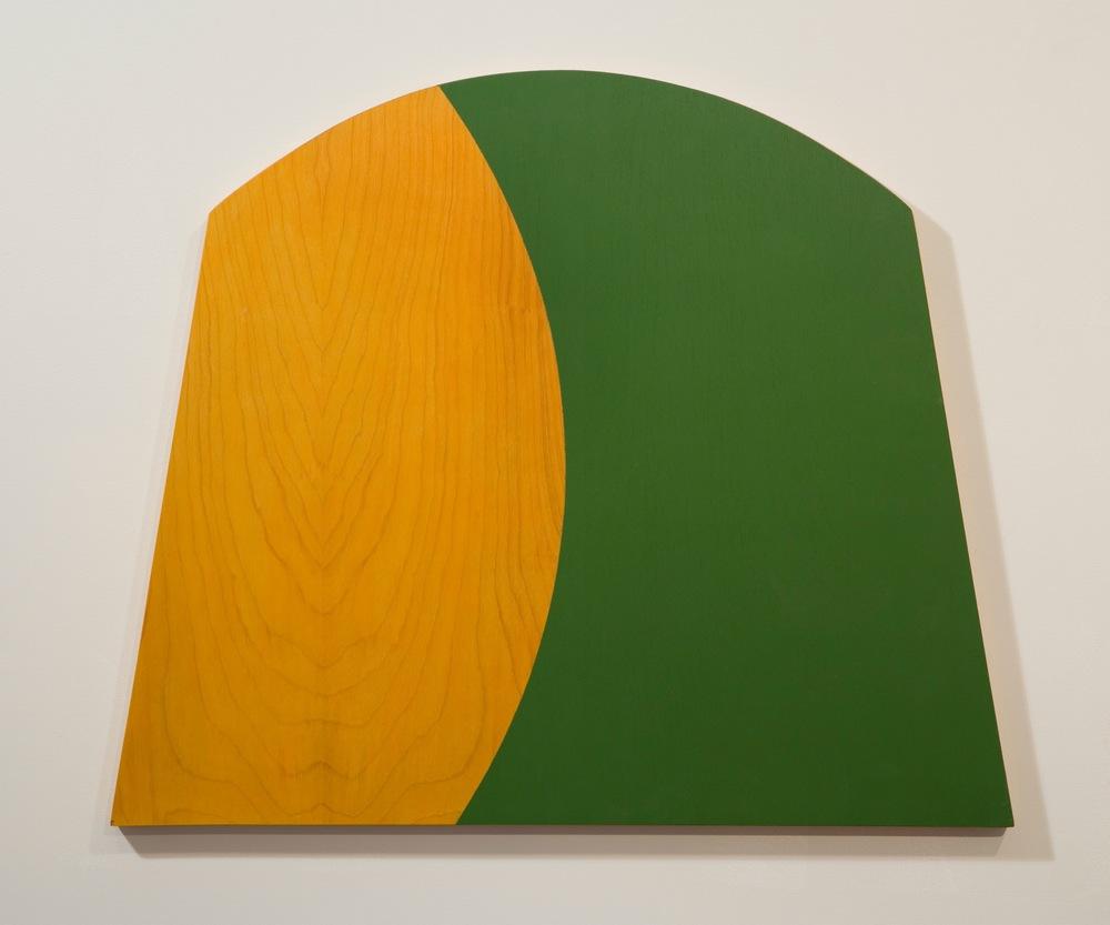 "Untitled, 2000, 27"" x 24"", acrylic on canvas"