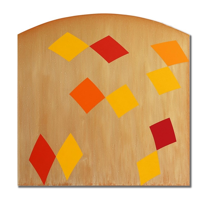 """Radius 1, 2013, acrylic on panel, 32"""" x 32"""""""