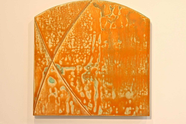 "Untitled, 2011, acrylic on panel, 24"" x 24"""