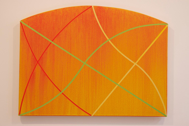 "Gone Wild 1, 2012, acrylic on canvas, 24"" x 32"""
