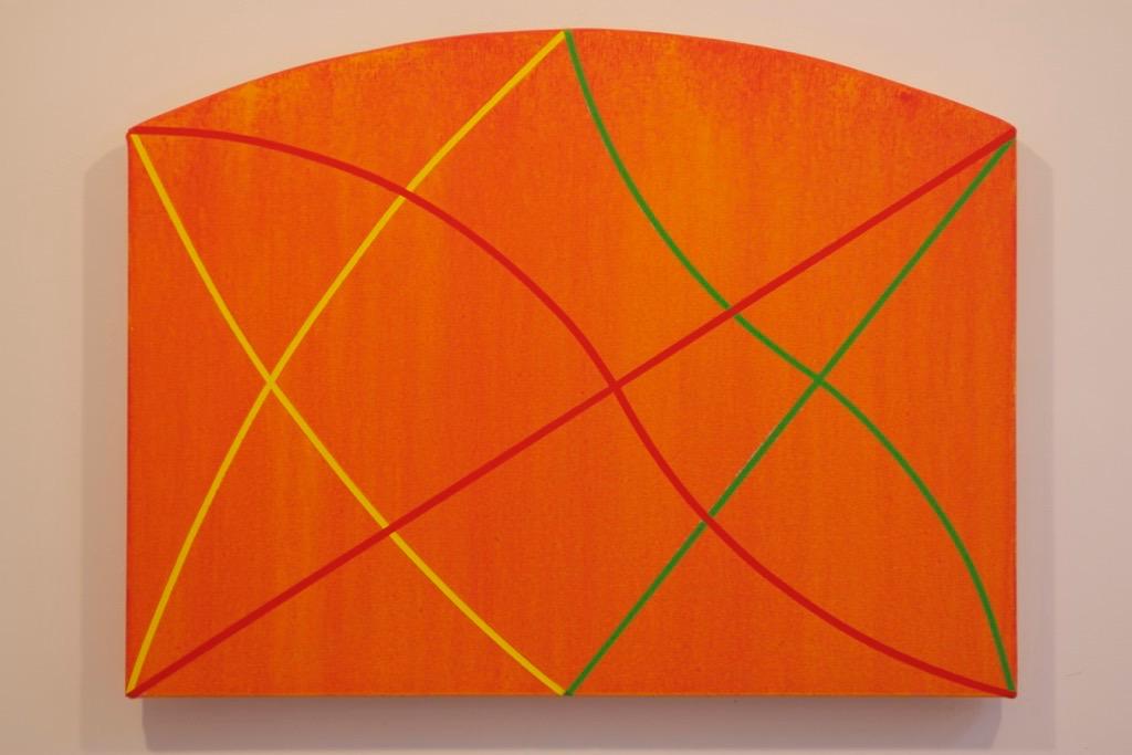 "Gone Wild 2, 2012, acrylic on canvas, 24"" x 32"""