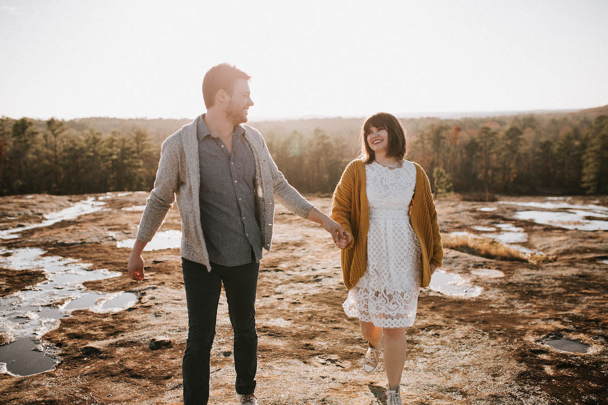 neutral tone styles for engagement photoshoot