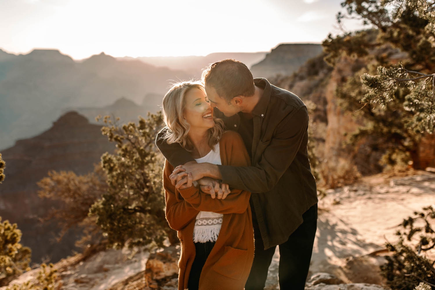 Grand Canyon Sunrise Adventure Couple Session-3.jpg