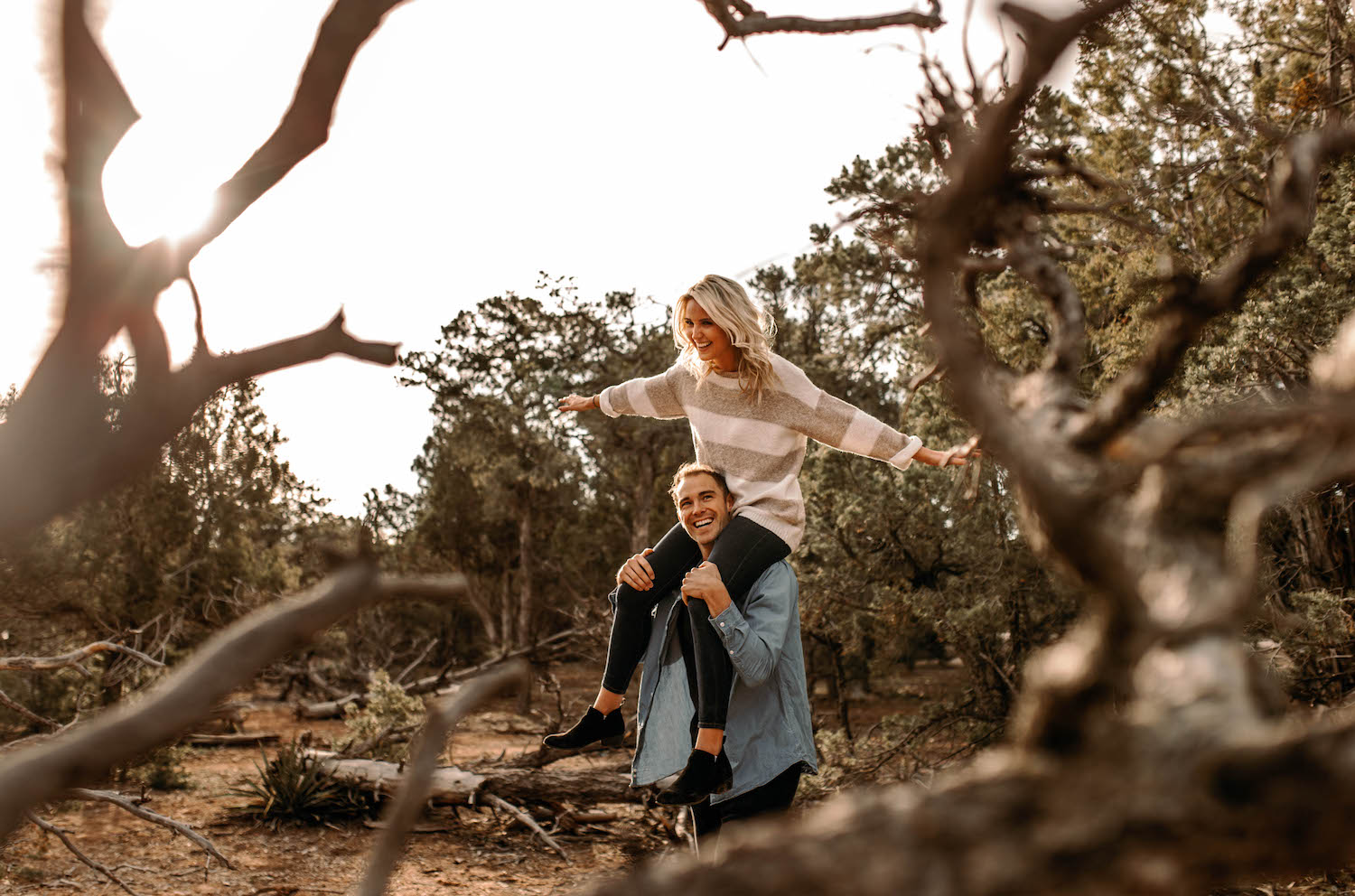 Grand Canyon Sunrise Adventure Couple Session-70.jpg
