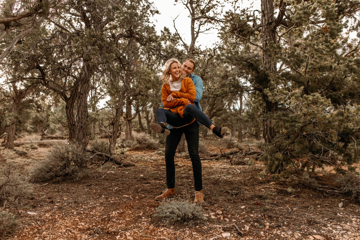 Grand Canyon Sunrise Adventure Couple Session-91.jpg
