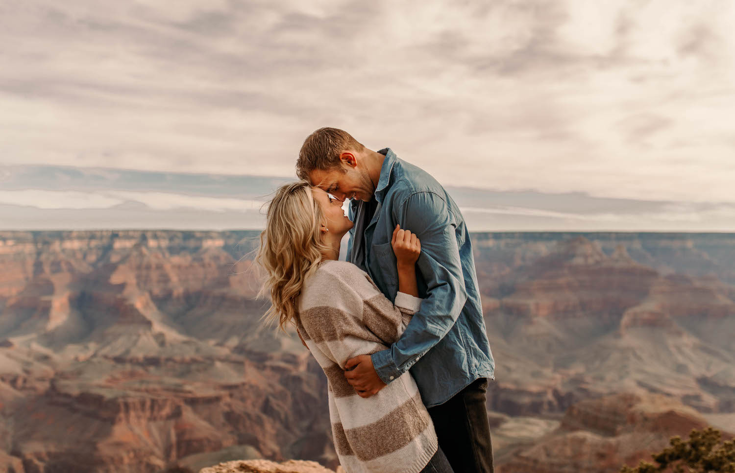Grand Canyon Sunrise Adventure Couple Session-87.jpg