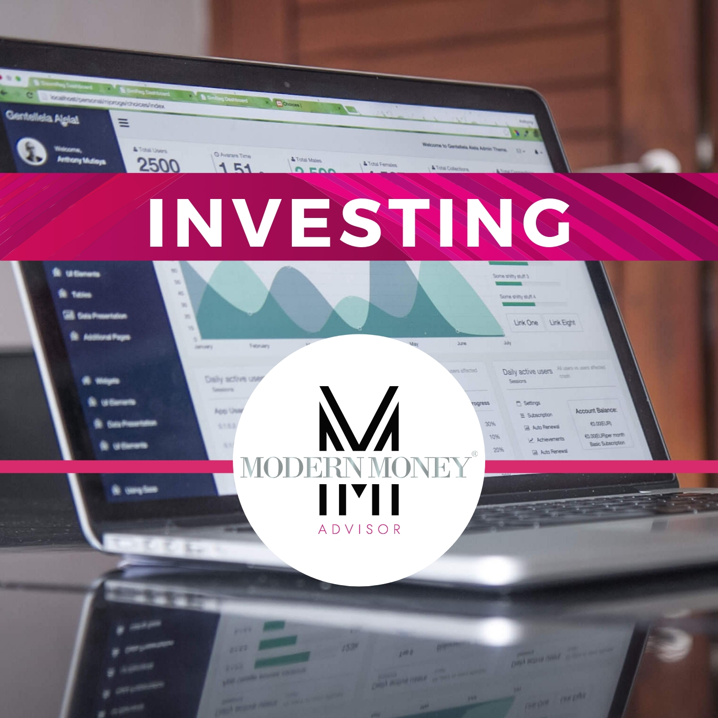 View Your Investments - Access to your Modern Money Advisor investment accounts, allocation, investment goals and investment account statements.
