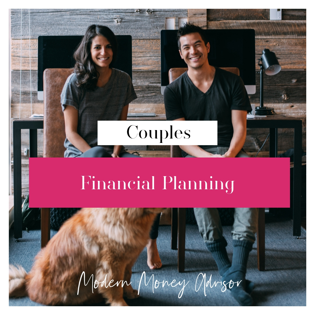 $1000 Upfront + $550/mo subscription - month to month    Couples - Financial Planning for Couples   Financial planning package for couples focused on wealth accumulation and debt elimination. See chart below for more details.