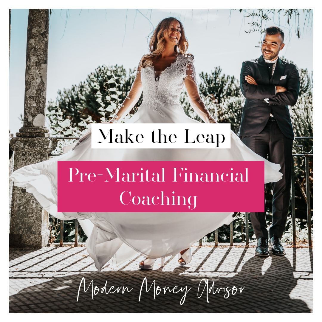 $150/mo x 3 months subscription    Premarital Financial Coaching Package   Two are greater than one! Financial coaching to help couples create a joint household budget, work through ways to tackle financial goals together and get a good understanding of each other's financial picture and mindset. This is a great way to create a strong financial foundation together and have a joint strategy before walking down the aisle.