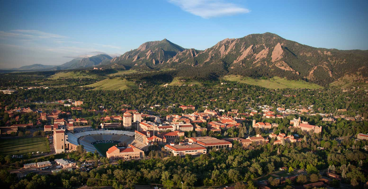 University of Colorado at Boulder Campus - Spring 2013