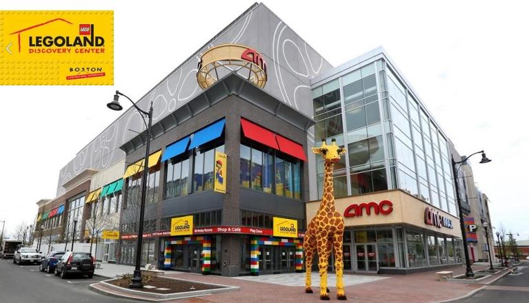 Legoland discovery center, boston