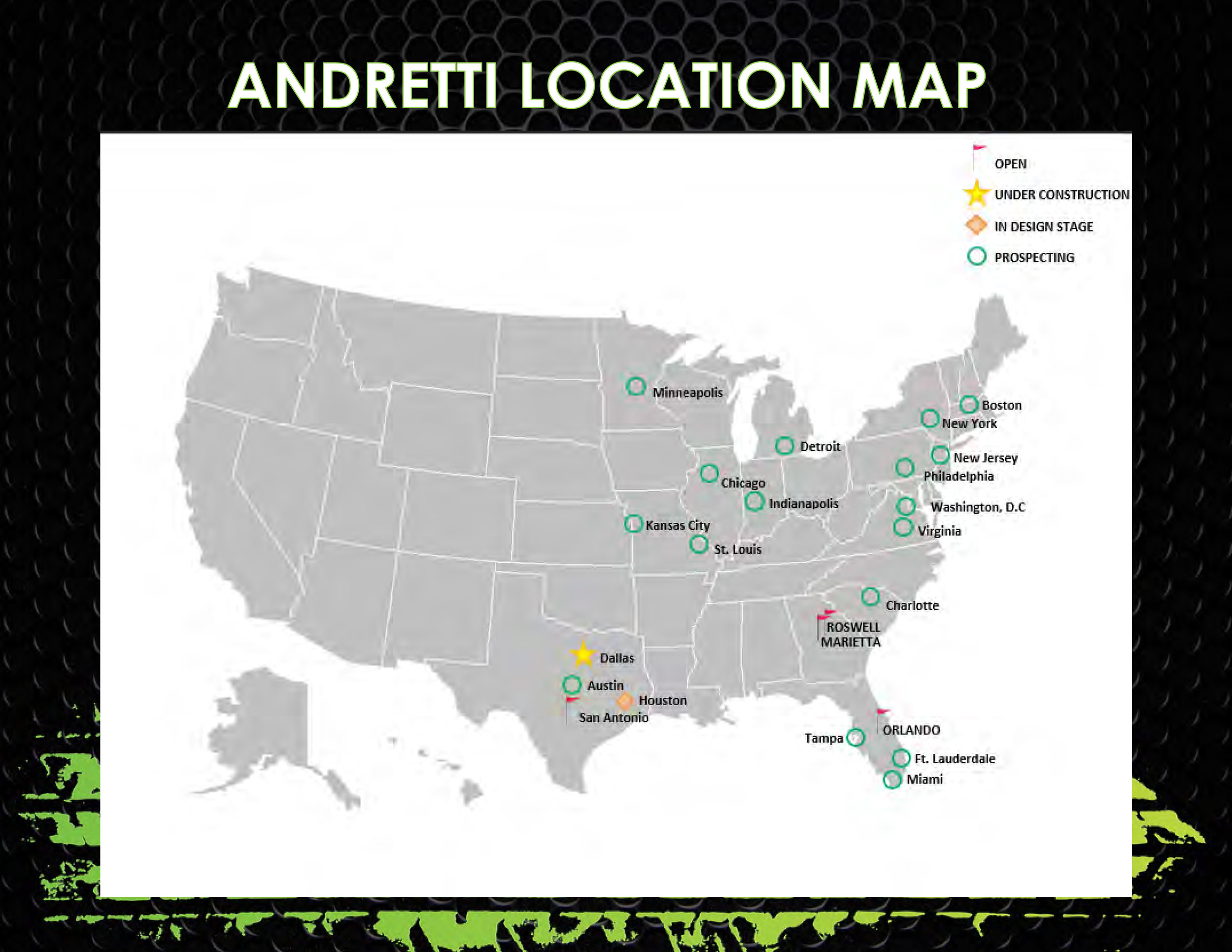 iFly LOCATIONS MAP - CLICK TO ENLARGE