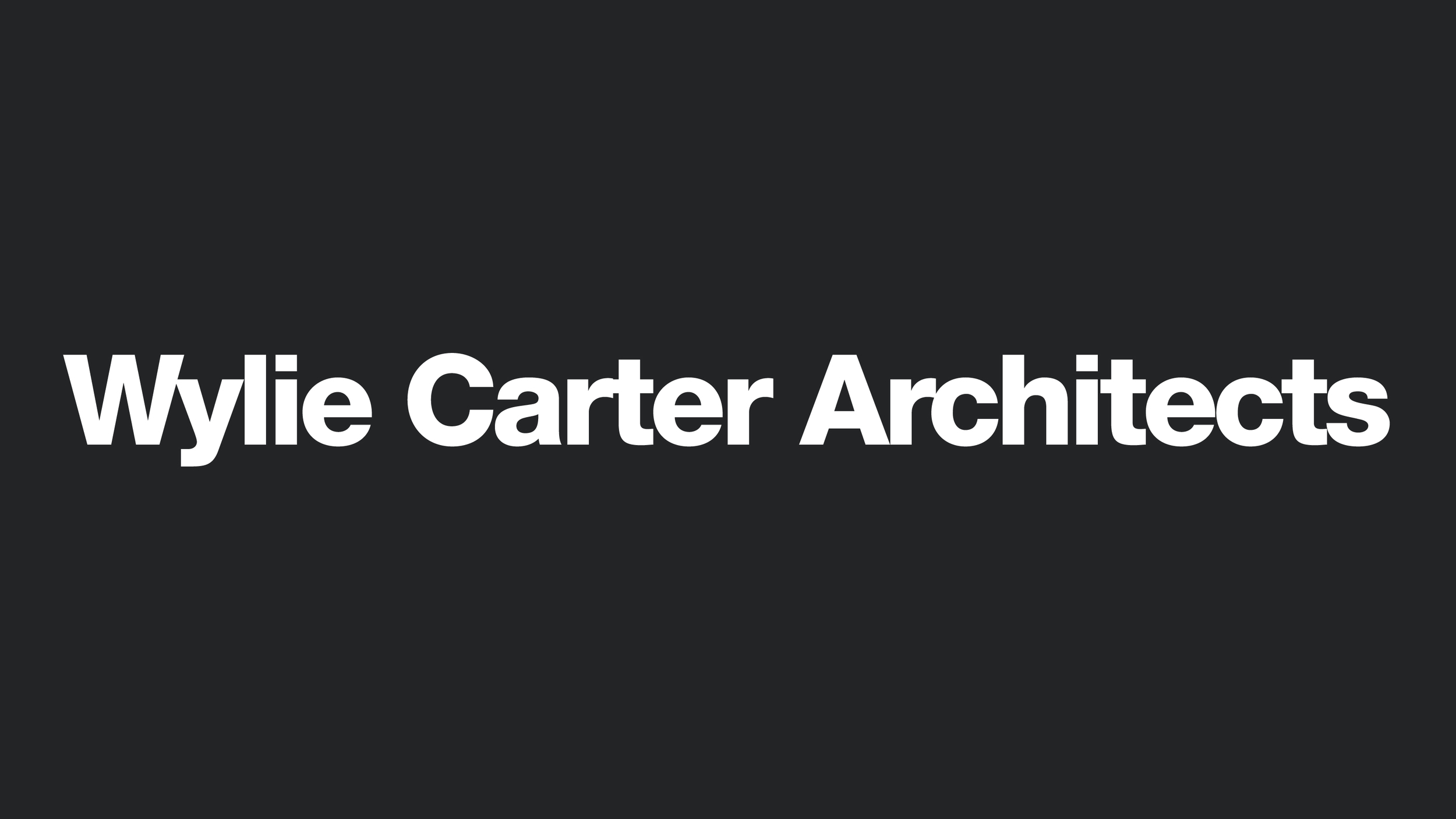 Wylie Carter Architects