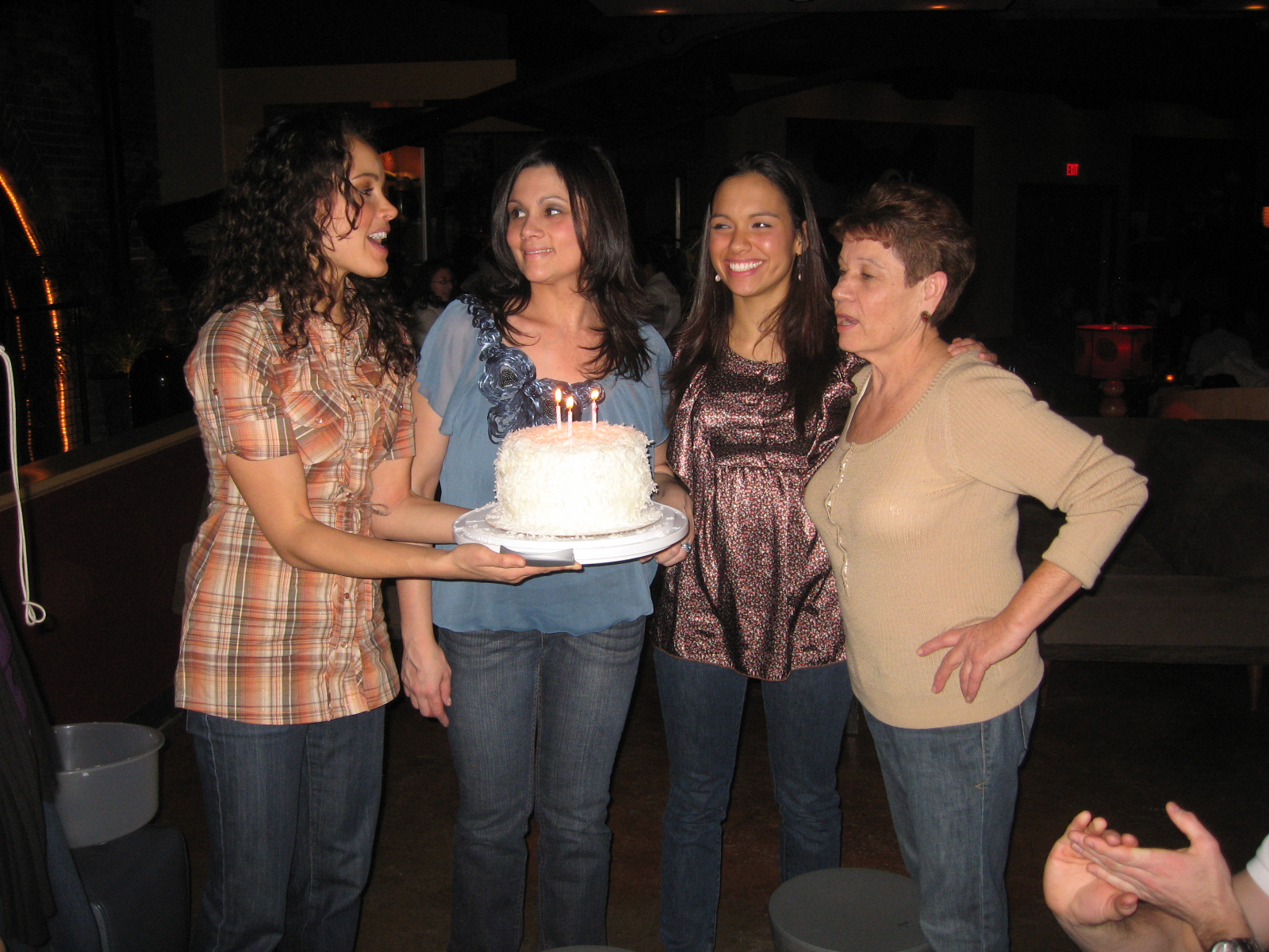 - Marisele's birthday bowling party at Lucky Strike in Boston.