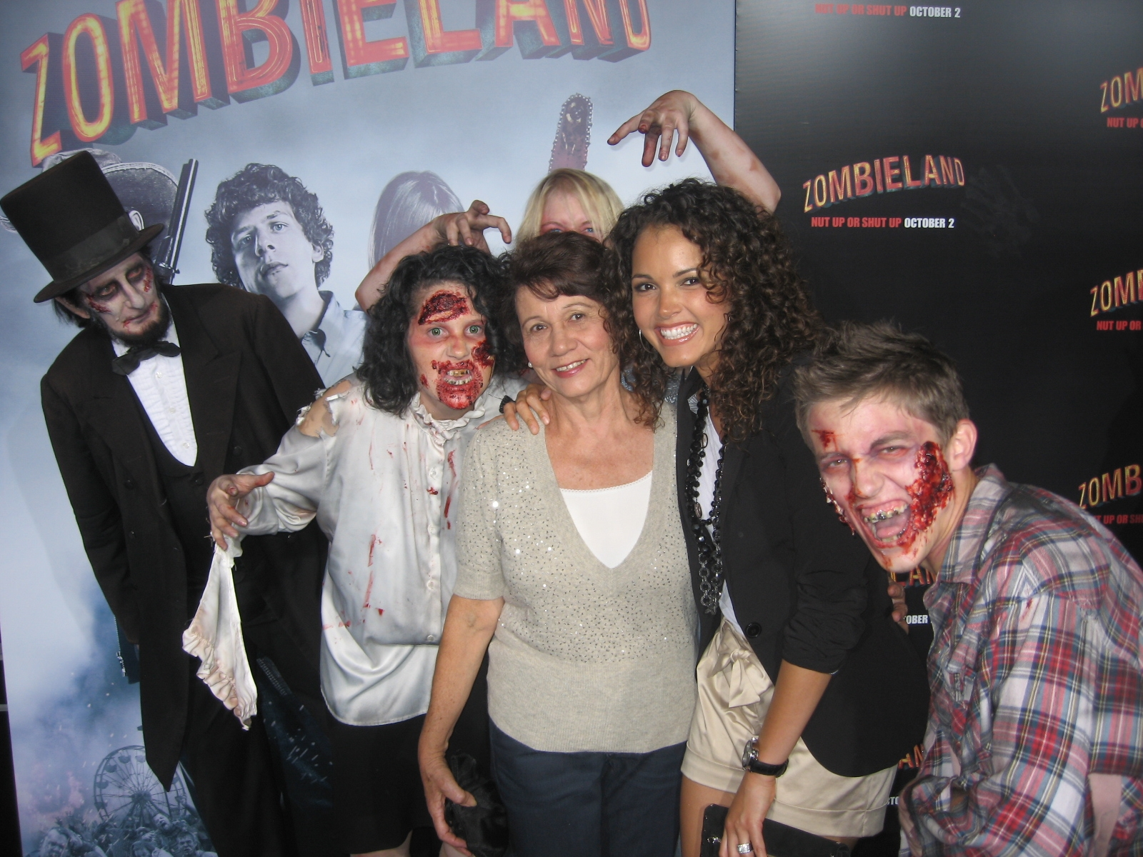 - I flew my mom out to Los Angeles and took her to the Zombieland premiere!