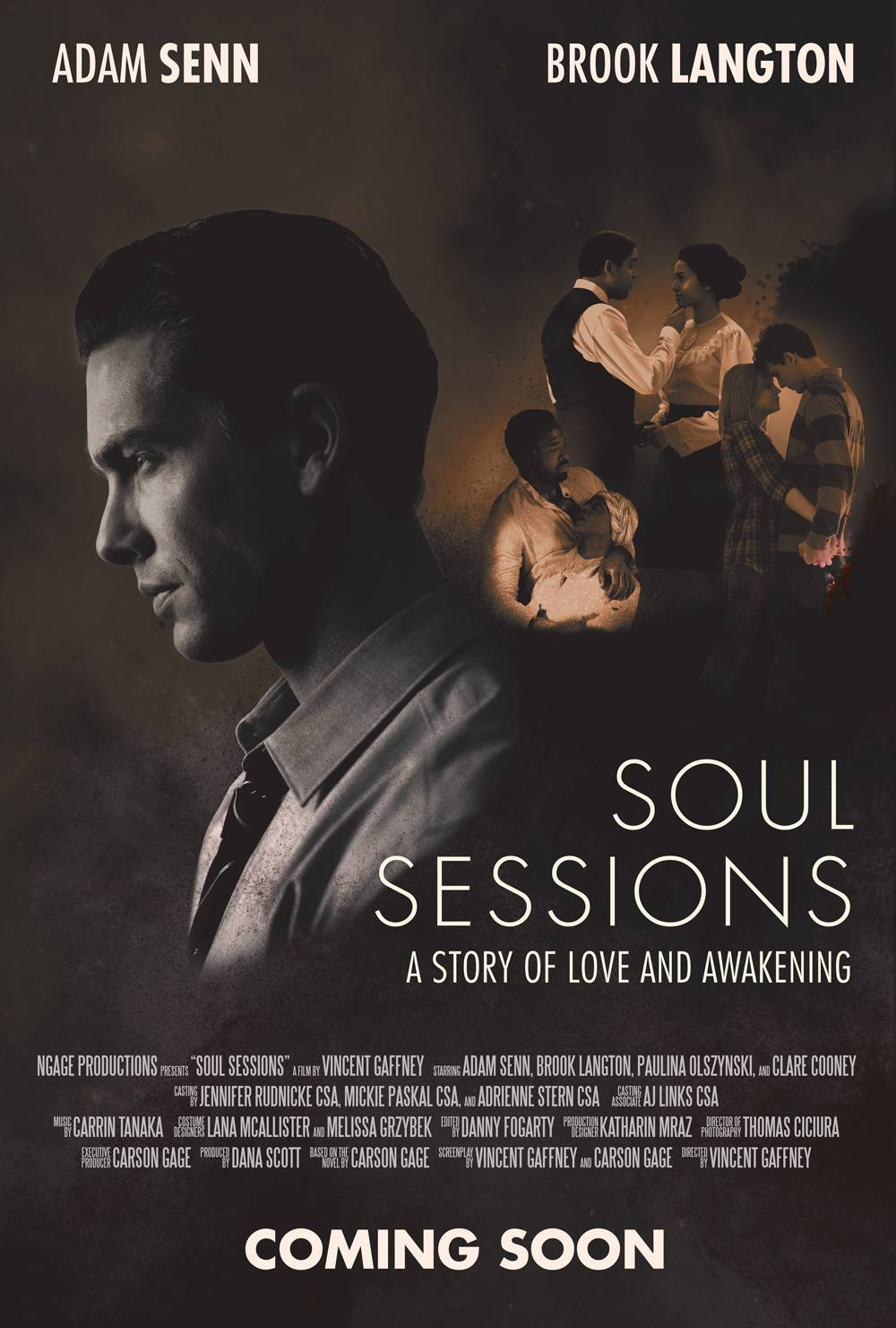 Clare played the role of 'Janice' in the independent Chicago feature film SOUL SESSIONS. Now in post.