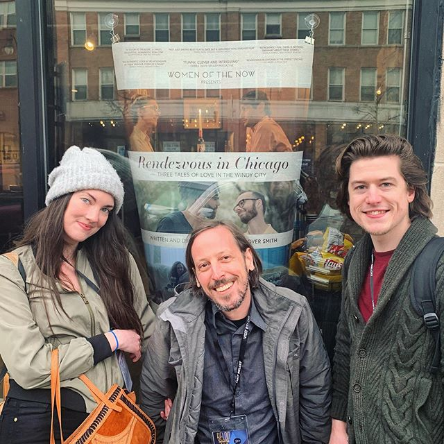 Poster children. Beloit, baby! • • • • • #film #filmscreening #beloit #beloitfilmfest #filmmaker #rendezvousinchicago #chicagofilmmaker #chicago #indiefilm #femalefilmmaker #actor #actorslife #actress #filmposter #poster #filmfestival #BIFF