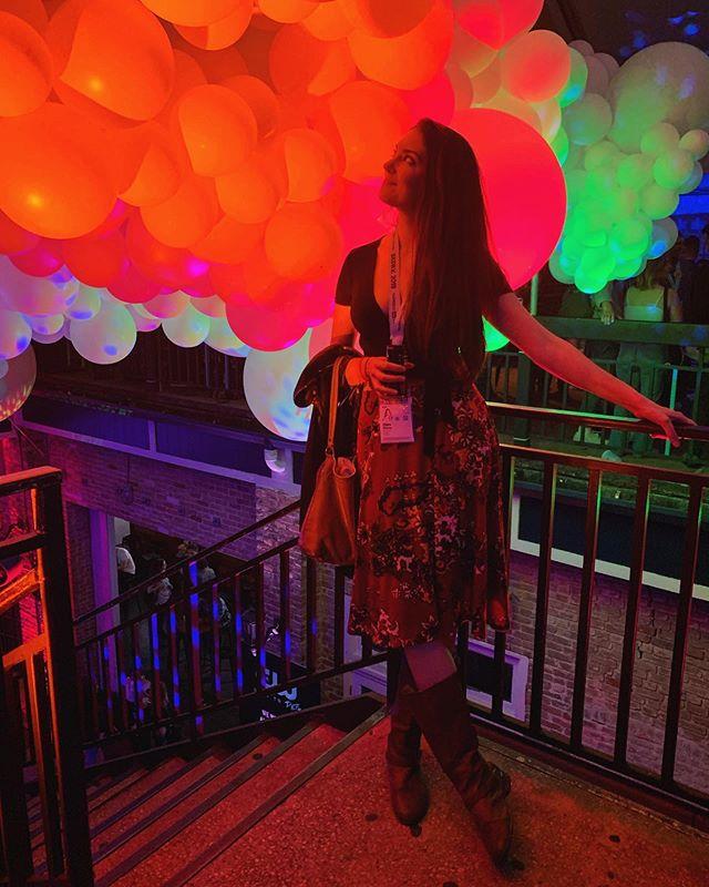 Birthday has been pretty good so far 🎈 • • • • • #sxsw2019 #sxsw #birthday #balloons #austintexas #austin #filmmaker #femalefilmmaker #filmfest #actor #actorslife #actress #elevatedfilms #elevatedfilmschicago #chicago #films #indiefilm #party #rooftop