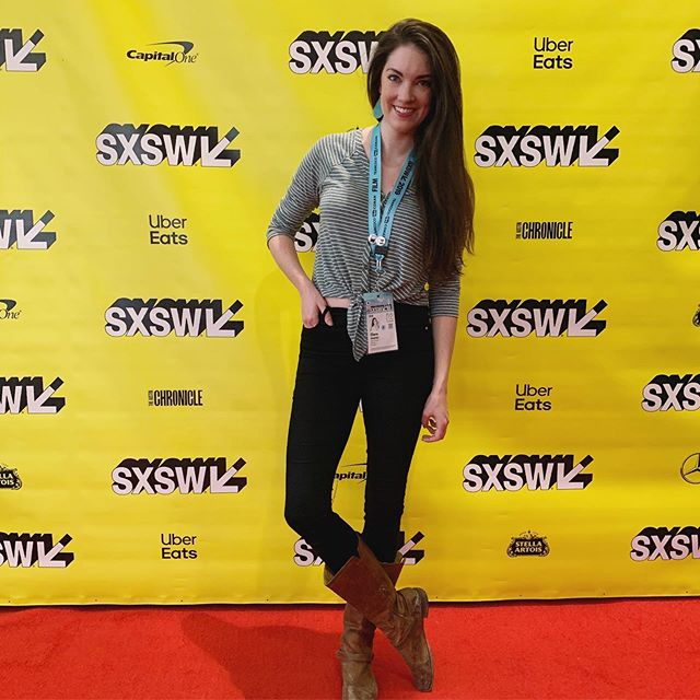 SXSW. Wowza. It's been an absolute blast. Stay weird, Austin, I miss you already. 💕 • • It was an honor to represent @elevatedfilmschicago at SXSW and to cheer on my (award-winning!!) Chicago buddies on @saintfrancesmovie! • • • • • #sxsw2019 #sxsw #filmmaker #filmfest #movies #chicago #elevatedfilmschicago #films #independentfilm #stepandrepeat #austin #austintexas #femalefilmmaker #nonprofit #filmscreening #actor #actorslife #redcarpet