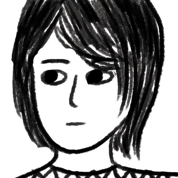 Self portrait courtesy of the artist.