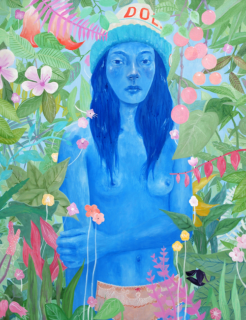 """To the flora and to the fauna"" by Tae Lee (Image courtesy of artist)"