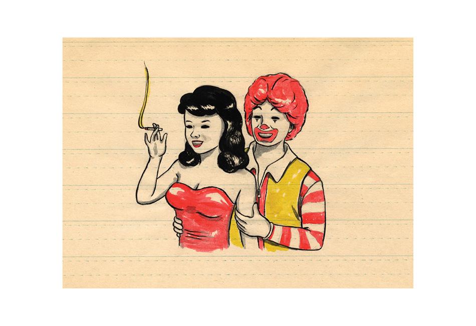 """Ron's Girl""  Image courtesy of artist."