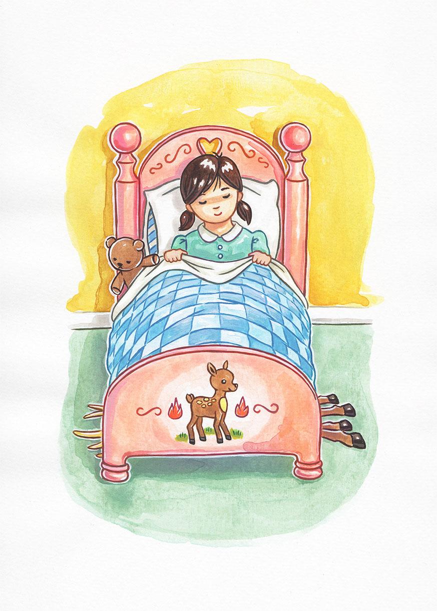 """""""Night Bambi""""  Image courtesy of artist."""