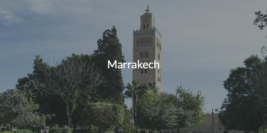 Marrakech hotel day pass