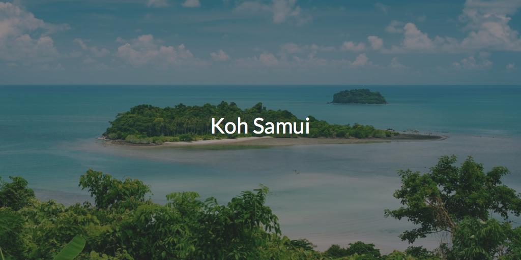 Koh Samui Hotels & Resorts Day Pass