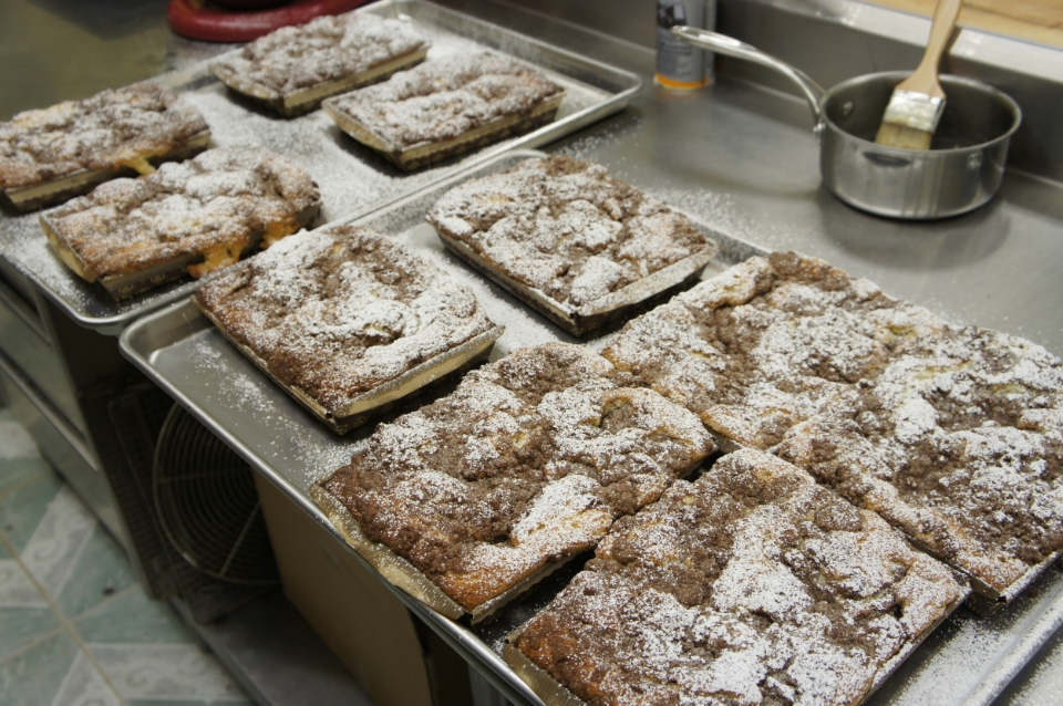 The Chocolate Crumb Cake, made just the way it's always been.