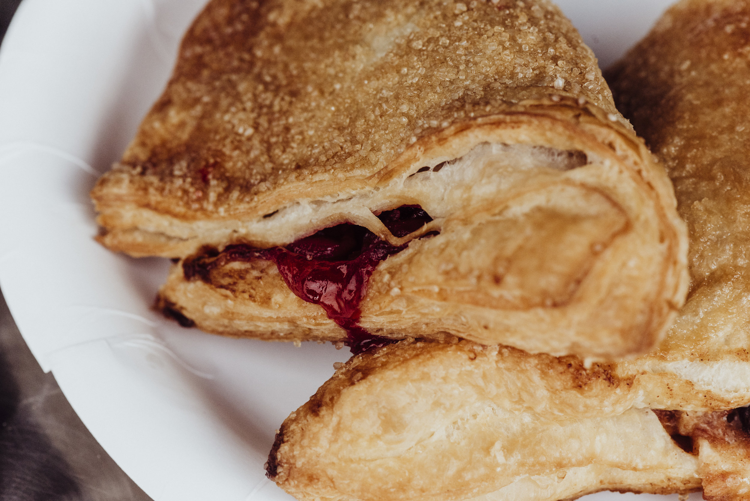 Apple and Cherry Turnovers, photo taken by   @JillCSmithPhotography