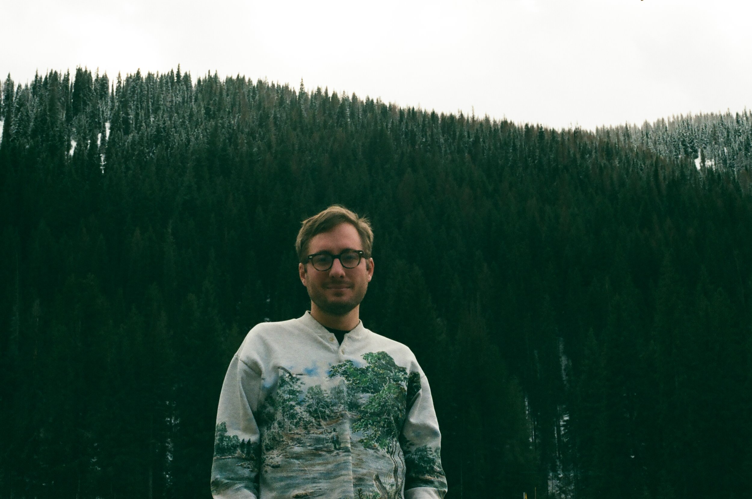 On tour in Washington State earlier this year - 35mm photo by Davey Jones