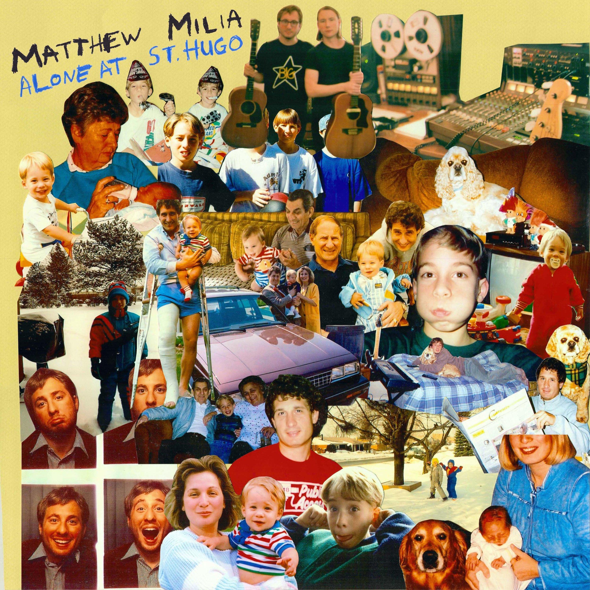 Matthew Milia - Alone at St. Hugo (cover).jpg