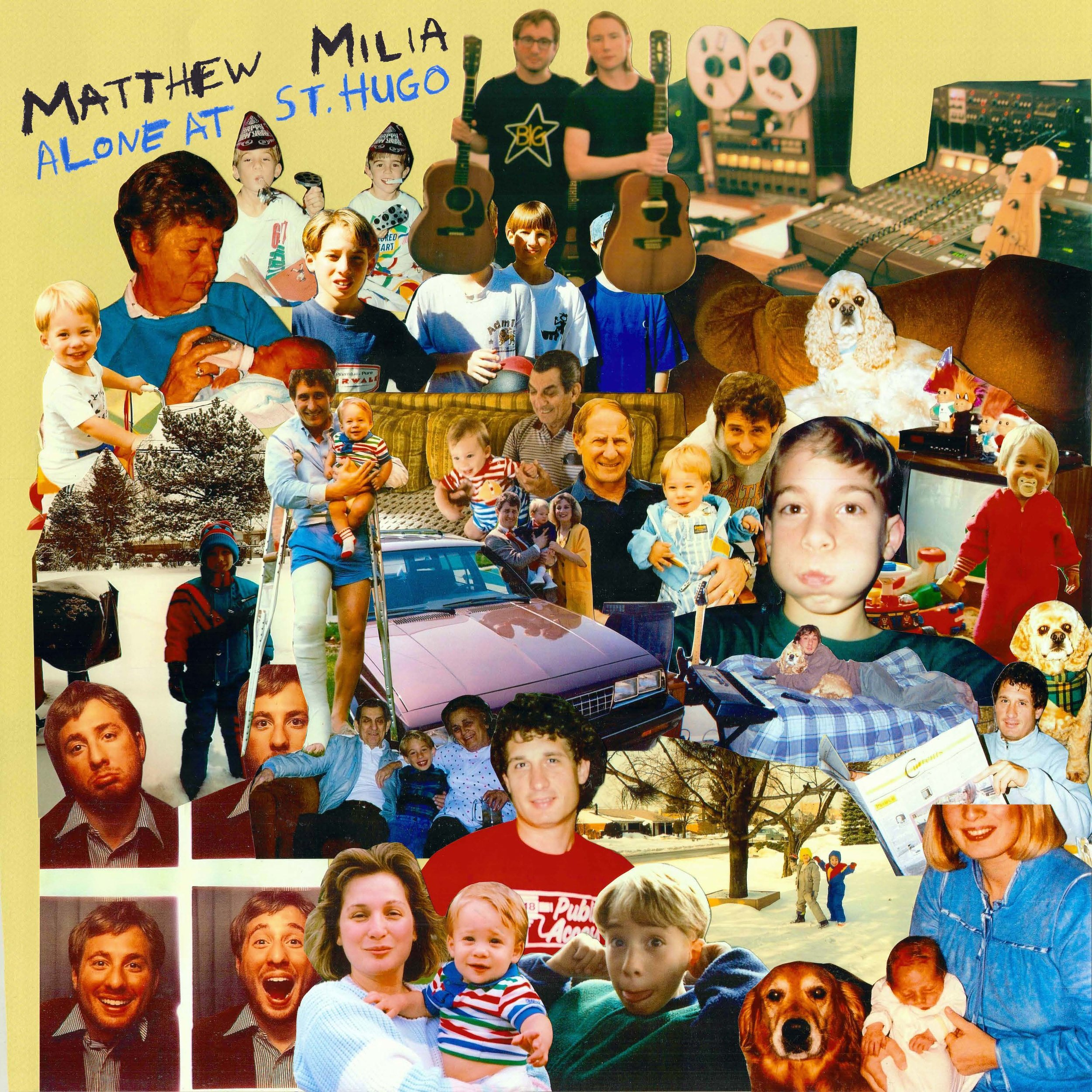 Matthew Milia - Alone at St. Hugo (cover).jpg