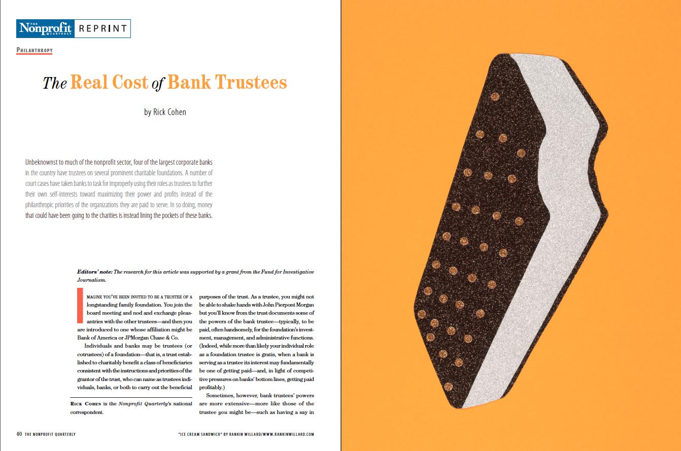 Nonprofit Quarterly - Academic Journal Illustration