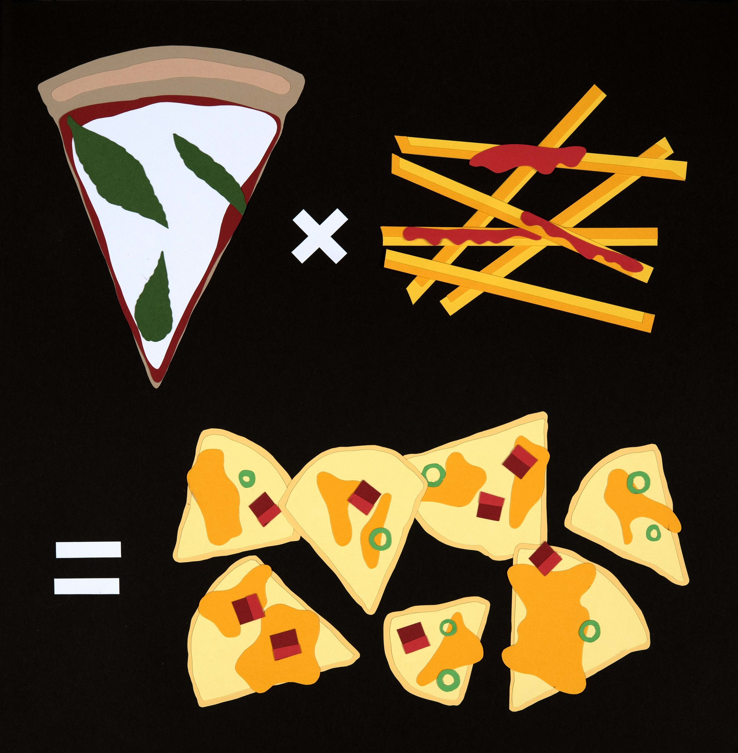 Pizza x French Fries = Nachos