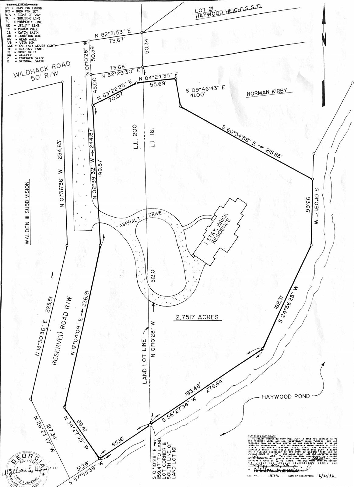 2.75 acres w/ lake access -