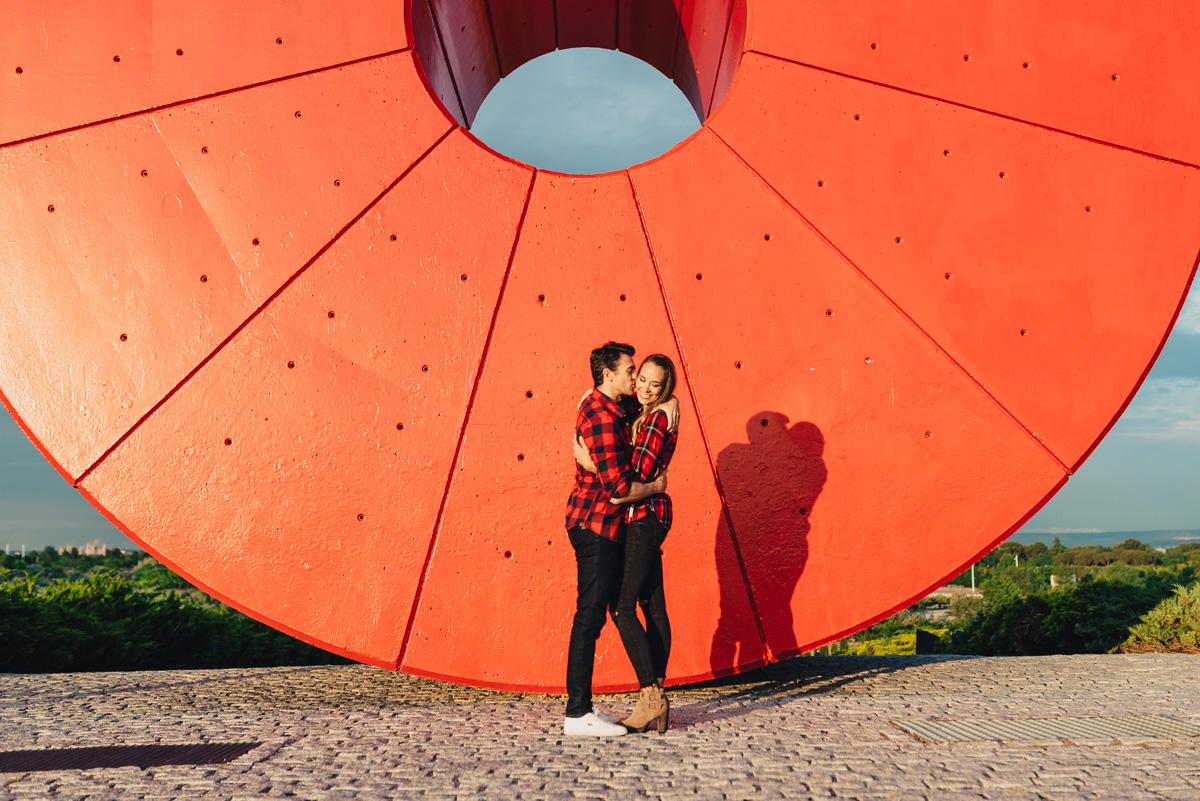 retrato de pareja
