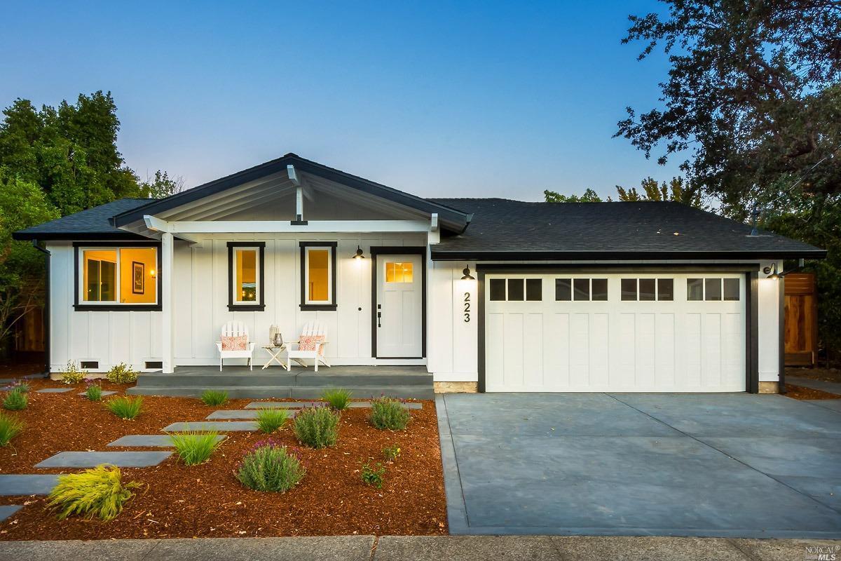 223 Orris Terrace, San Rafael, CA 94903   4 Beds / 2 Total Baths/ 1,785 sqft   Sale price: $1,302,777