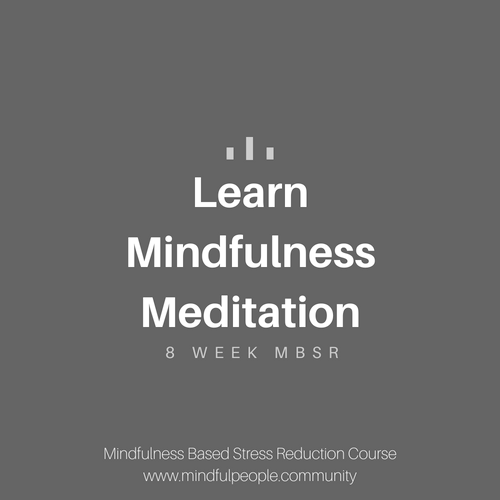Learn Mindfulness MBSR
